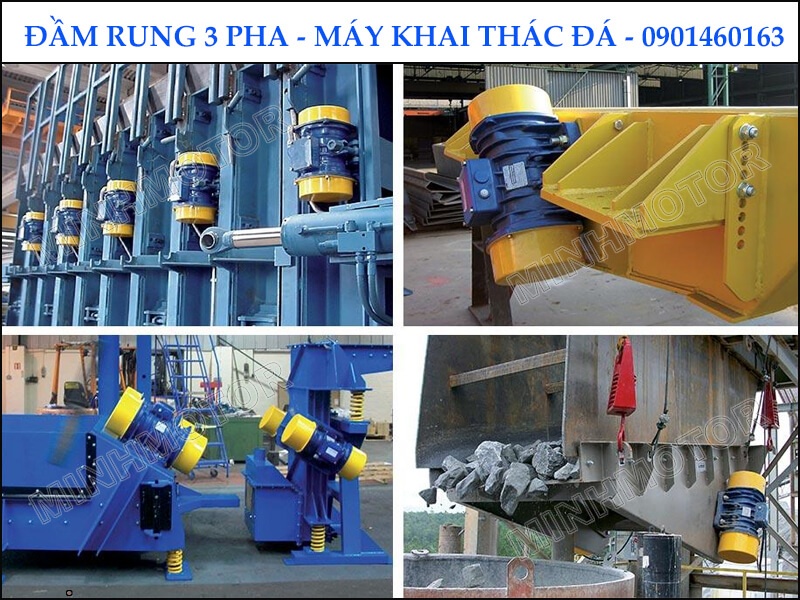 Đầm Rung 3 Pha 0.75kw – máy khai thác đá