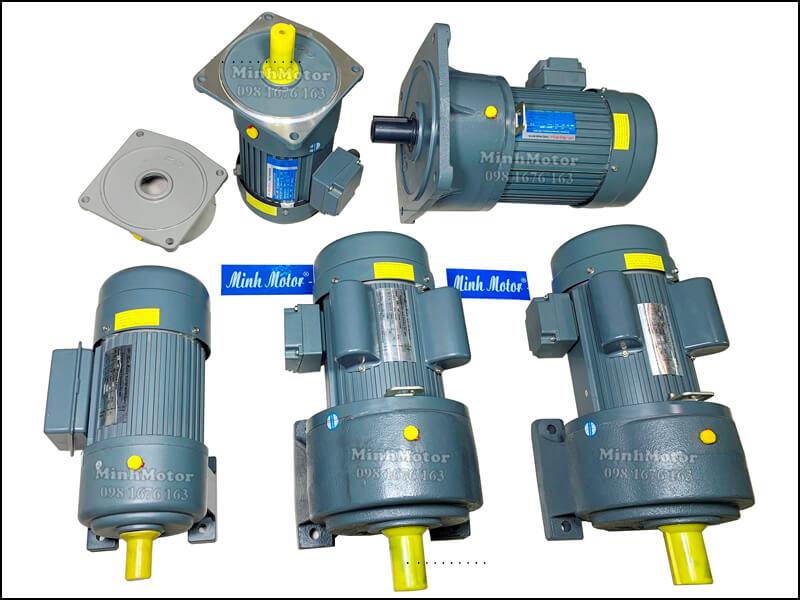 Motor giảm tốc 1 pha 220v, thiết yếu ở những vùng không có điện áp 380v.