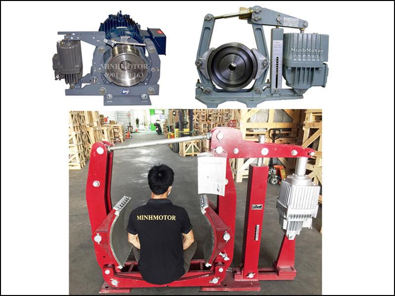 Motor phanh 45kw 60HP 60 ngựa thiết kế từ phanh thủy lực cầu trục