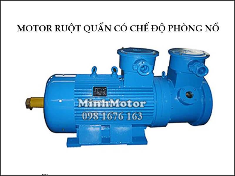 Motor Ruột Quấn 11 kw 15 HP có chế độ phòng nổ