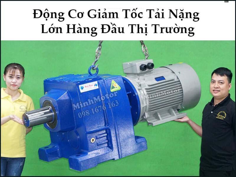 Động Cơ Giảm Tốc 15HP 11KW ratio 60 R137