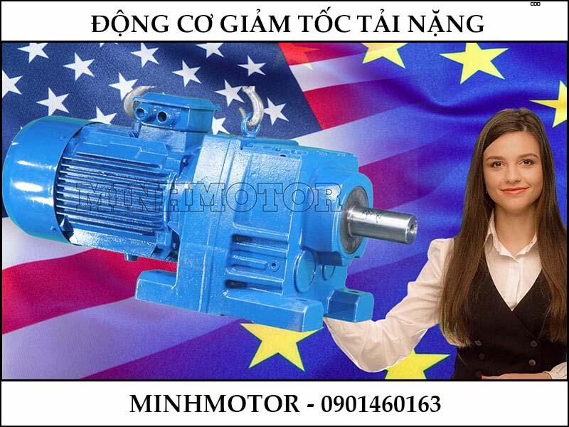 Động Cơ Giảm Tốc 20HP 15KW ratio 30 R107