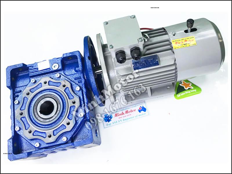 Giảm Tốc RV size 90 Liền motor phanh từ