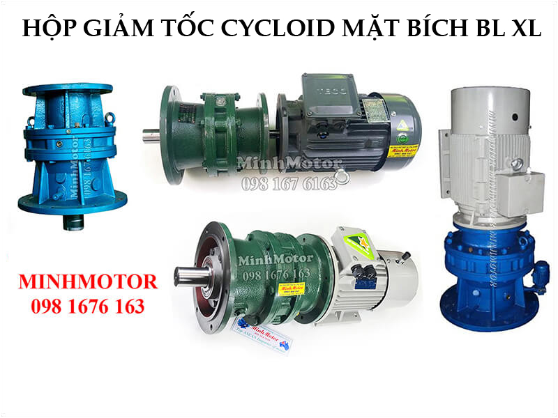 Giảm Tốc Cycloid Mặt Bích BL XL 4Kw 5.5Hp