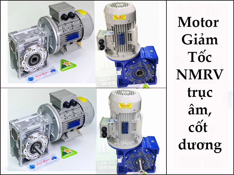 Motor giảm tốc NMRV 1.5kw 2hp