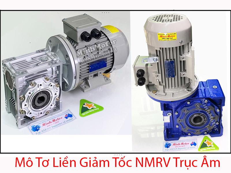 Motor liền giảm tốc NMRV trục âm