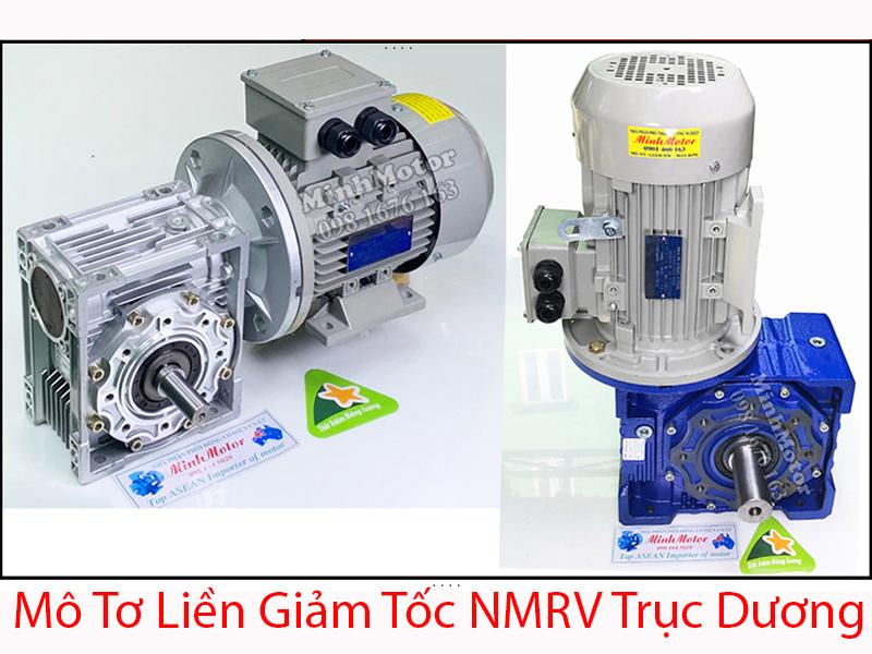 Motor liền giảm tốc NMRV trục dương
