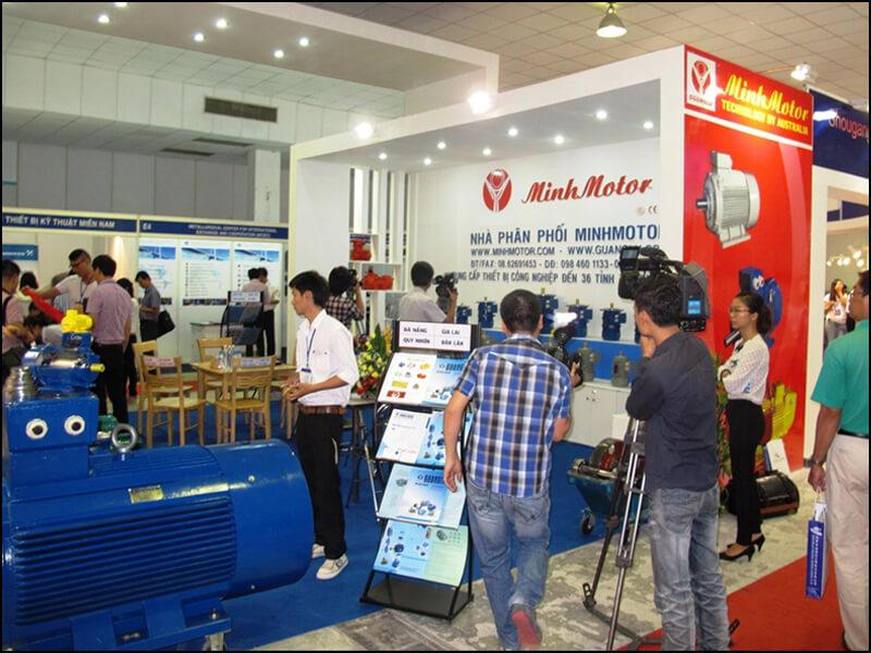 hội chợ triển lãm cơ điện motor giảm tốc