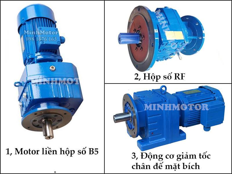 Thông số kỹ thuật motor giảm tốc 22Kw 30HP mặt bích
