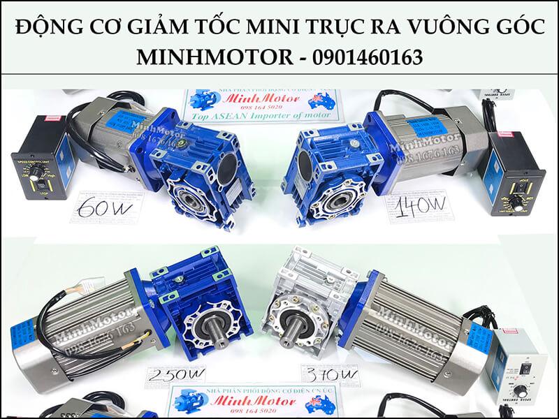 Motor Giảm Tốc 250w IRV Có 2 loại