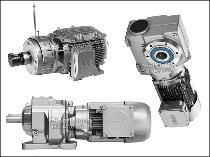 Motor giảm tốc Siemens 4kw 5.5HP 5.5 ngựa