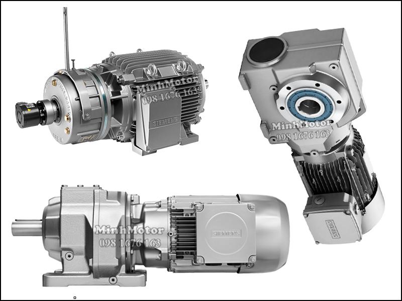 Motor giảm tốc Siemens 5.5kw 7.5HP 7.5 ngựa