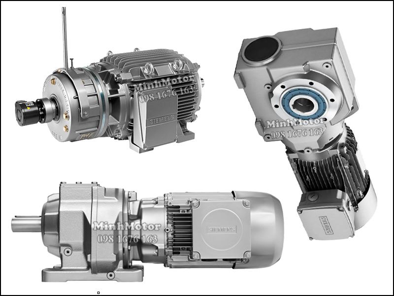 Motor giảm tốc Siemens 55kw 75HP 75 ngựa
